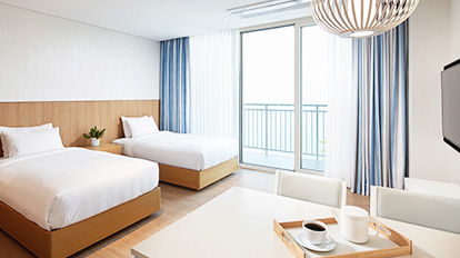 Lotte Resort Sokcho Condo Family - An ocean view room suitable for 3~4 people. - 01