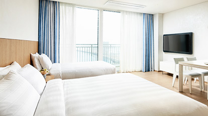 Lotte Resort Sokcho Condo Deluxe - The most basic condo type room suitable for 2~3 people. - 01